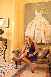 Wedding Dress Into Acrylic Box On Wall Ideas